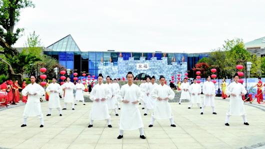 """""""非遗万博manbetx官网手机版登陆周末聚""""国庆秀福泉"""