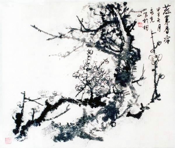 中国国家书画院副院长著名国画家罗永光先生作品欣赏