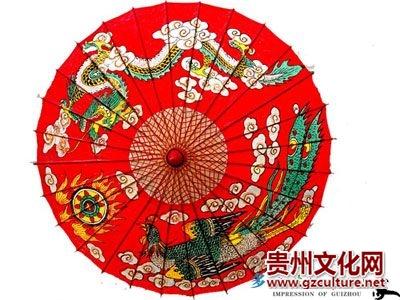 土家族油纸伞