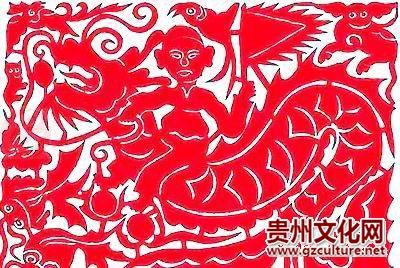 黔东南苗族剪纸
